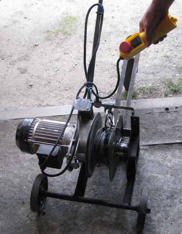 Электроплуг из электродрели